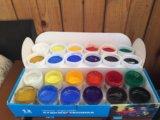 Набор акриловых красок. Фото 1.