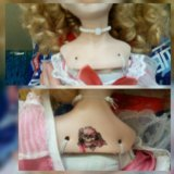 Кукла фарфоровая. Фото 2.