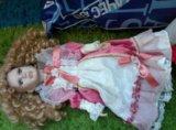 Кукла фарфоровая. Фото 1.