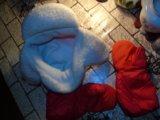 Комплект шапка kangol + перчатки красные идеал. Фото 4.
