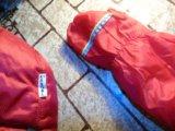 Комплект шапка kangol + перчатки красные идеал. Фото 2.