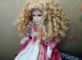 Кукла фарфоровая. Фото 4.