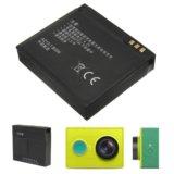 Аккумулятор для xiaomi yi 1010mah. Фото 2.