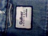 Gulliver!детская джинсовая куртка. Фото 2.