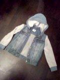 Gulliver!детская джинсовая куртка. Фото 3.