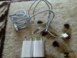Зарядное на iphone 4s. Фото 2.
