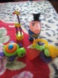 Игрушки и прорезыватель для малышей. Фото 1.