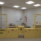 Комплект торгового оборудования. цвет желтый. Фото 1.