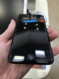 Iphone 7 plus 128g чёрный-матовый. Фото 4.