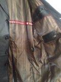 Кожаный мужской плащ. Фото 3.