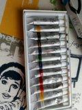 Краски акриловые для дизайна ногтей. Фото 1.