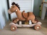 Каталка/качалка лошадка. Фото 2.