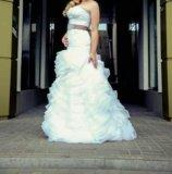 Свадебное платье в стиле vera wong. Фото 1.
