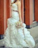 Свадебное платье в стиле vera wong. Фото 3.