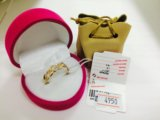 Кольцо золотое 585. Фото 1.