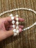 Бижутерия:два браслета и ожерелье. Фото 2.