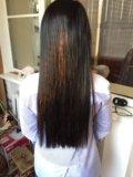 Натуральные волосы 100 прядей. Фото 2.