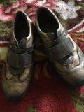 Ботинки детские ,р35,6-36,кожа. Фото 1.