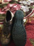 Ботинки детские ,р35,6-36,кожа. Фото 2.