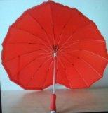 """Аренда. зонт """" красное сердце"""". Фото 1."""
