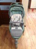 Прогулочная коляска happy baby neon sport. Фото 1.