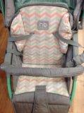 Прогулочная коляска happy baby neon sport. Фото 3.