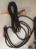 Провода hdmi и аудио. Фото 1.