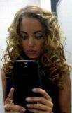 Укладка волос на бебилис. Фото 2.