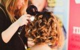 Укладка волос на бебилис. Фото 1.