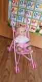 Набор коляска+пупс. Фото 1.
