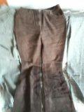 Джинсы и льняные брюки. Фото 2.