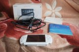 Sony psp slim white ( psp-2008 cw). Фото 1.