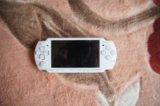 Sony psp slim white ( psp-2008 cw). Фото 2.