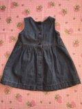 Платье джинсовое бренд. Фото 2.