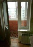 Стеклопакет балконный - дверь с окном. Фото 3.