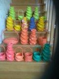 Для оформления вазы для цветов, корзиночки. Фото 1.