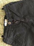 Черные брюки / джинсы / штаны р.128 / 8 лет. Фото 2.