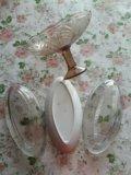 Селедочницы и ваза. Фото 2.