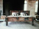 """Кровать """"манхетн-4"""", в стиле лофт. Фото 1."""