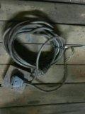 Провода сварочные 8мм медь,б/у проф. Фото 3.