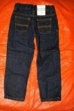 Новые джинсы carters на 5 лет. Фото 1.