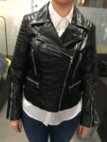 Кожаная куртка - косуха. Фото 1.