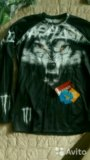 Рашгард волк 50 размер. Фото 1.