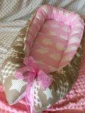 Гнездышко кокон для новорождённого. Фото 2.