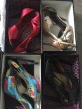 Туфли лодочки,черные,красные,серые. Фото 3.