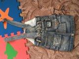Комбинезон джинсовый на 1,5-3года. Фото 2.