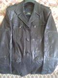 Куртка-пиджак кожаная фирма bison. Фото 1.