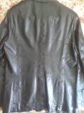 Куртка-пиджак кожаная фирма bison. Фото 2.