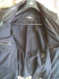 Куртка-пиджак кожаная фирма bison. Фото 3.