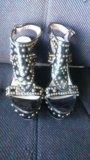 Туфли на платформе. Фото 1.